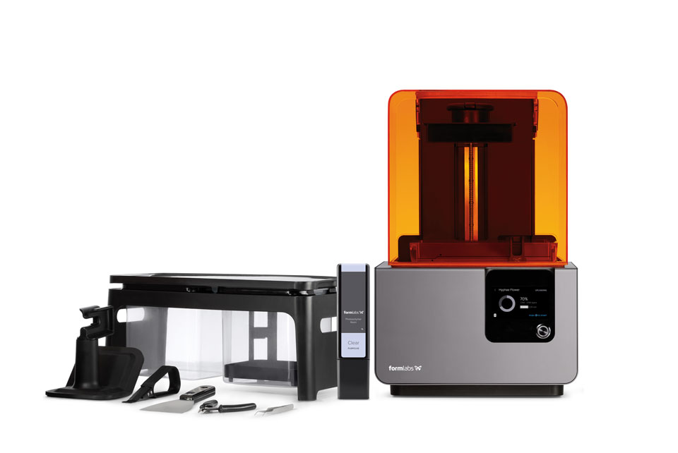 Form 2, Finish Kit, and Formlabs Resin